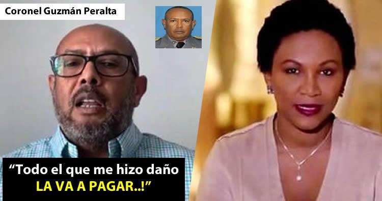 Coronel Guzmán Peralta dice lo usaron para acusar a Abinader del sabotaje de las elecciones del 16 de febrero