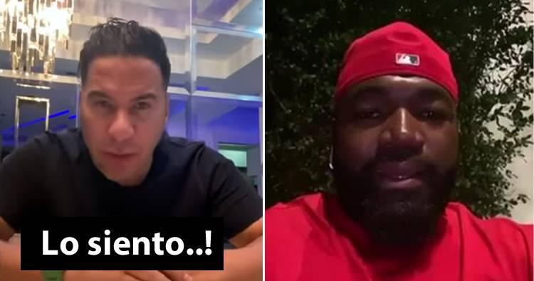 Cristian Casablanca le pide disculpas a David Ortiz