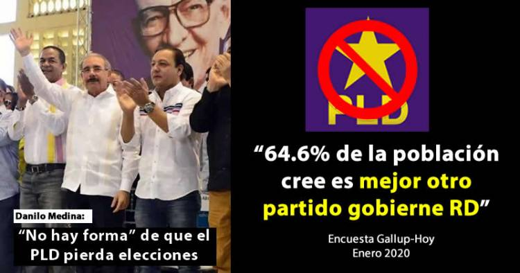 """Danilo Medina refuta encuesta Gallup; dice """"no hay forma"""" PLD pierda elecciones"""