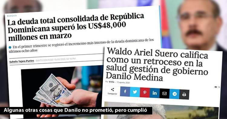 Danilo Medina dice que cumplió todo lo que prometió