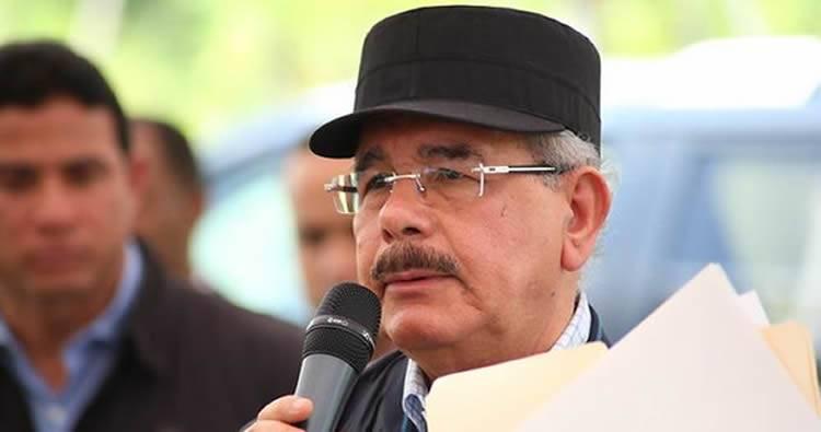 Danilo Medina dijo que va según Dany Alcántara