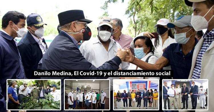 Danilo Medina dice no irá a toma posesión de Abinader por Covid-19