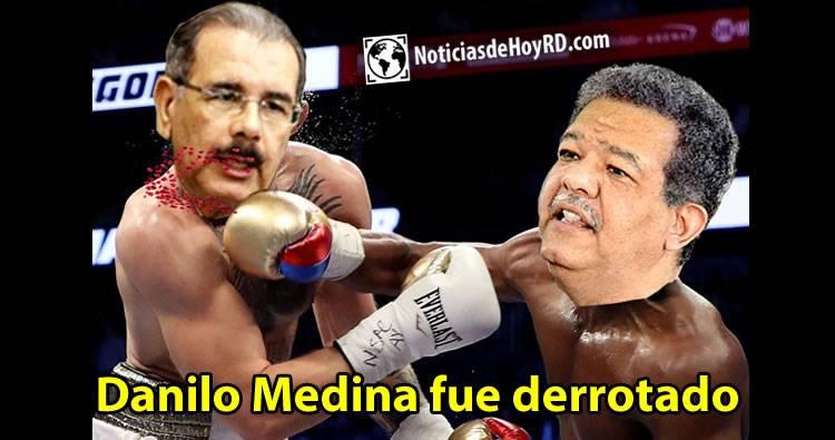 Danilo Medina fue derrotado según un análisis de Altagracia Salazar