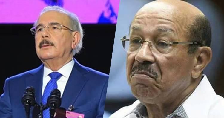 Danilo Medina le quita el mando a Temístocles Montás y juramenta miembros del PLD