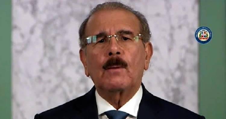 Danilo Medina solicita al Congreso extender 25 días estado de emergencia por COVID-19