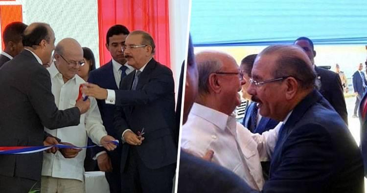 Danilo Medina inaugura un centro de investigación en San Cristóbal