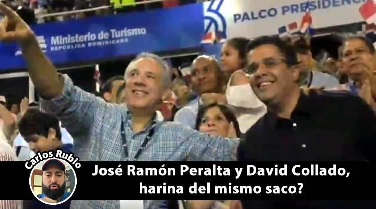 Lo que dice Carlos Rubio de David Collado y José Ramón Peralta