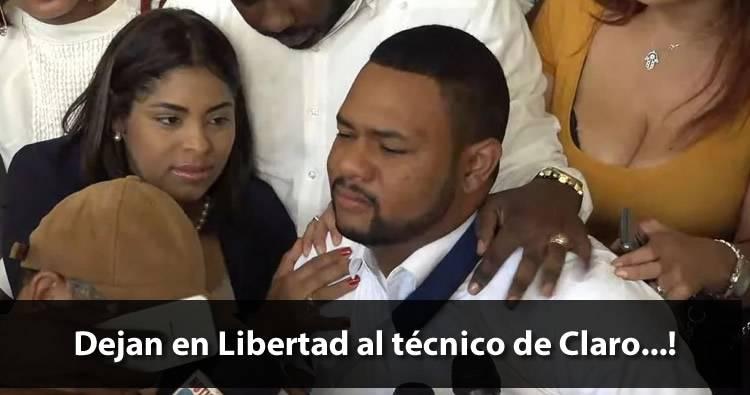Video: Dejan en libertad al técnico de Claro y al coronel Guzmán Peralta