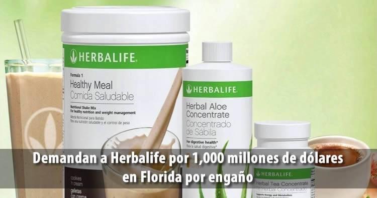 Demandan a Herbalife por engaño