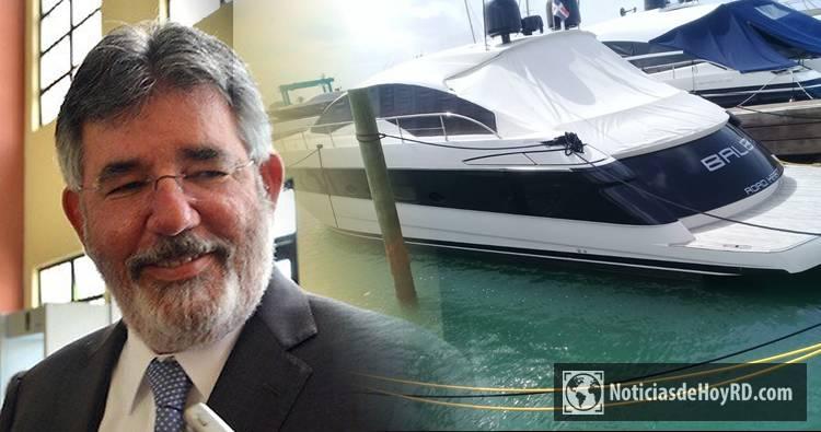 Familiar de Díaz Rúa solicita devolución de yate incautado por el caso Odebrecht