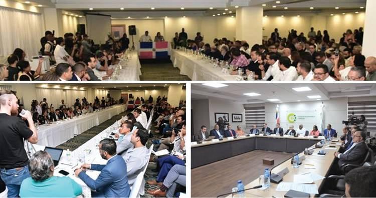 Más de 14 partidos políticos y decenas de organizaciones participaron en diálogo jóvenes