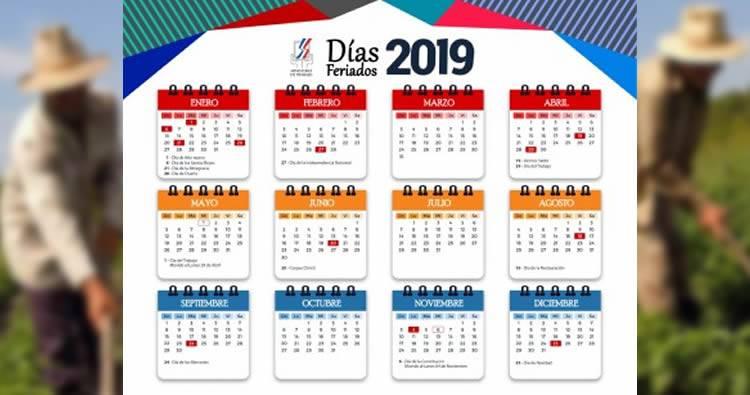 Días feriados de 2019 en República Dominicana