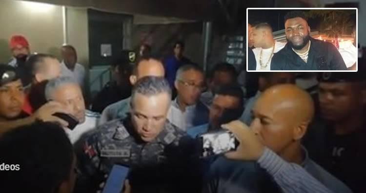 Video: Lo que dice el Director PN sobre tiro que le dieron a David Ortiz