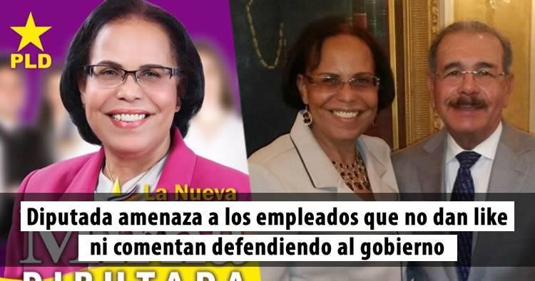 Audio: Diputada Mirna Tejada amenaza con cancelar empleados 'no hablen bien' del gobierno