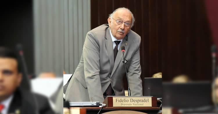 Diputado Fidelio Despradel aclara que no votó a favor de Camacho