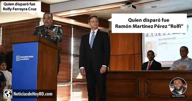 En la rueda de prensa El Director de la PN decía una cosa y El Procurador Jean Alain otra cosa diferente