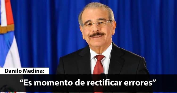 Discurso Danilo Medina tras el fracaso del «voto automatizado»