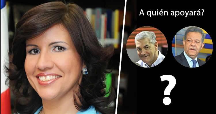 Margarita Cedeño se dirigirá este miércoles al país