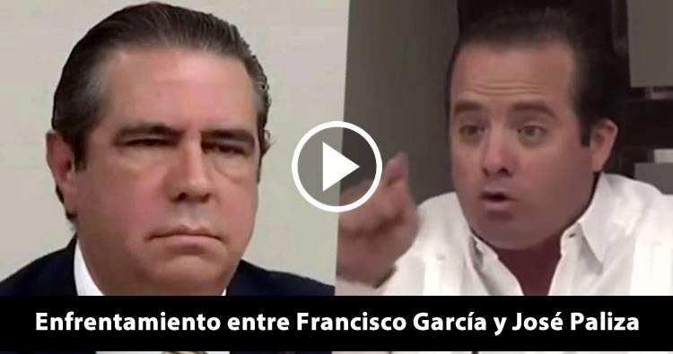 Video: Enfrentamiento entre Francisco Javier García y José Paliza