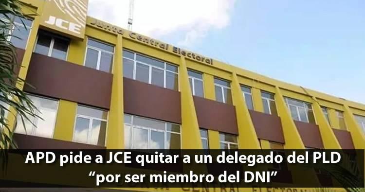 Piden JCE quitar agente del DNI que actúa como delegado del PLD