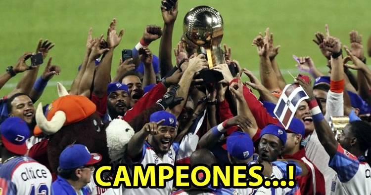 República Dominicana se corona «Campeones» en Serie del Caribe 2020