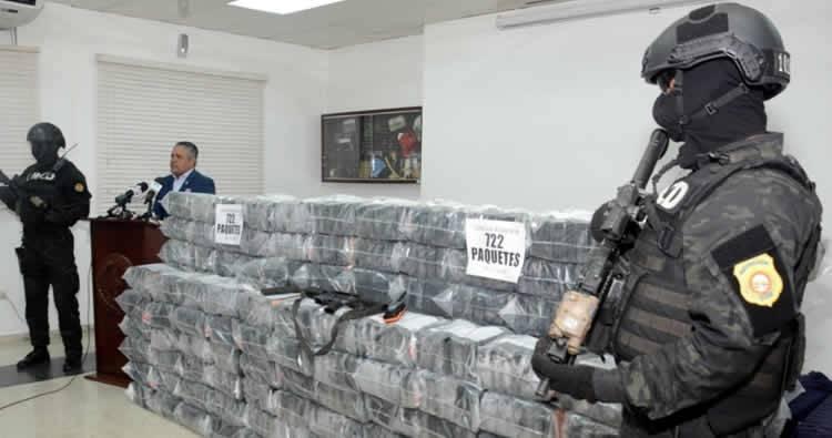 Aumenta decomiso cocaína sin dueños y sin detenidos