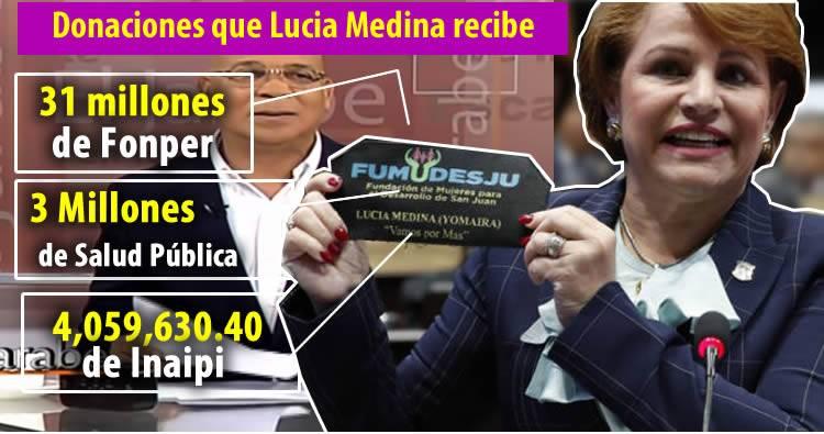 Marino Zapete dice que Danilo debe explicar millones que recibe su hermana Lucia Medina
