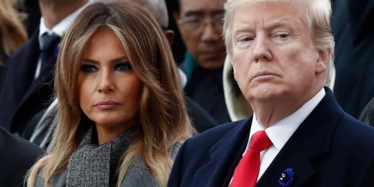 Donald Trump y la primera dama Melania dan positivo por coronavirus