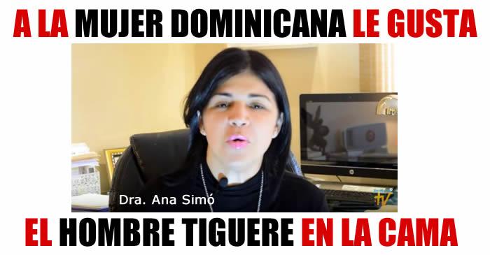 Video: Ana Simó revela lo que le gusta a la mujer dominicana en la cama