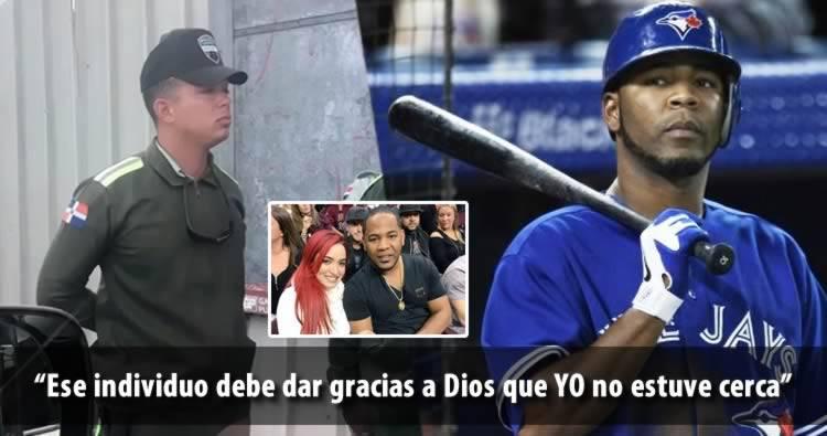 Reacción del pelotero Edwin Encarnación por el lío de Karen Yapoort y Amet