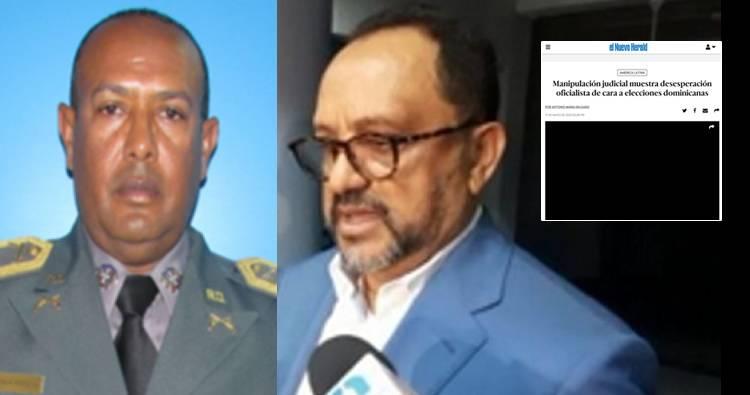 Lo que publicó el Nuevo Herald sobre caso coronel Guzmán Peralta y las pasadas elecciones de Febrero