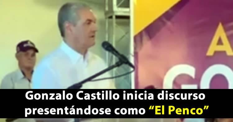 Video: Gonzalo Castillo se presenta como 'El Penco'