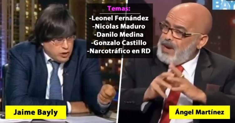 Video: Jaime Bayly entrevista a Ángel Martínez