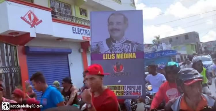 Video: Entierro de la reelección de Danilo Medina en Moca