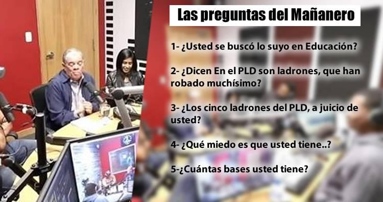 Video: Entrevista a Carlos Amarante Baret en El Mañanero