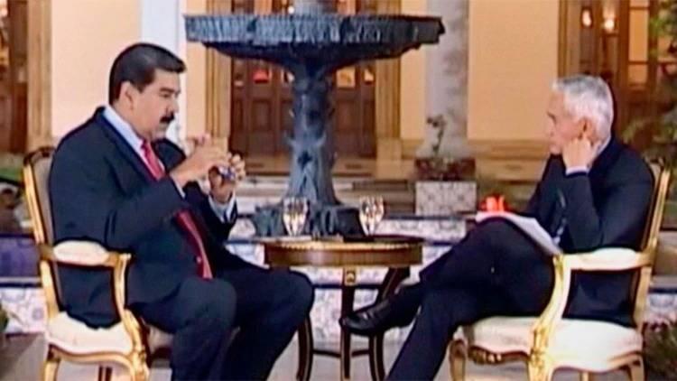 Se filtra entrevista de Jorge Ramos a Nicolás Maduro