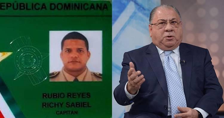 Capitán muerto a tiros en San Cristóbal era seguridad de Monchy Fadul