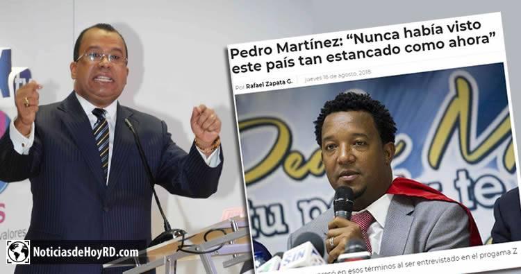 Euri Cabral arremete contra Pedro Martínez por decir que la economía esta estancada