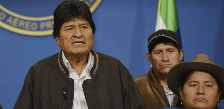 Evo Morales renuncia tras protestas en Bolivia