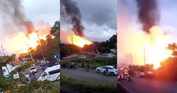 Video: Explosión de planta de gas en Santiago deja al menos 2 muertos