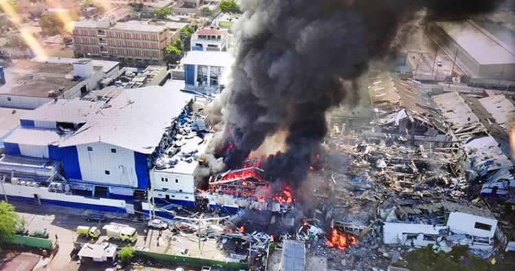 Explosión en Villas Agrícolas (resumen)