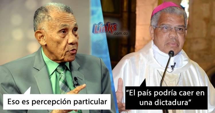 Pastor Ezequiel Molina no esta de acuerdo con postura del obispo Francisco Ozoria