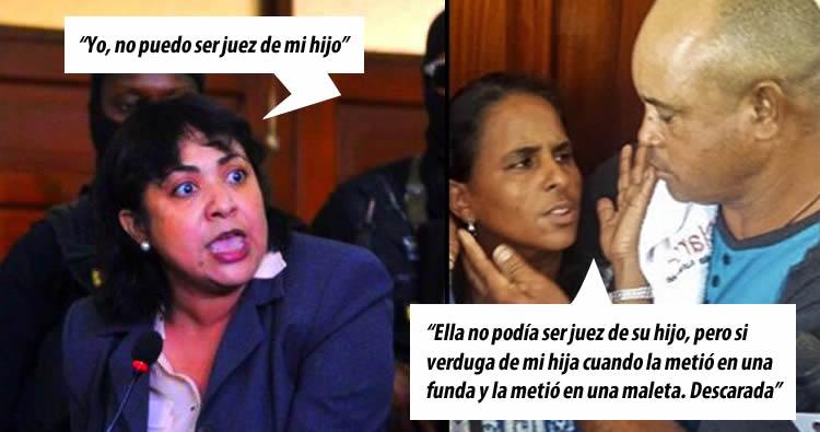 Los padres de Emely Peguero no aguantaron y le respondierón a Marlín Martínez