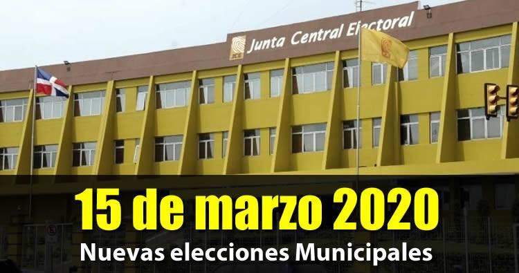Nuevas elecciones municipales serán el 15 de marzo, JCE no consultó a los partidos opositores