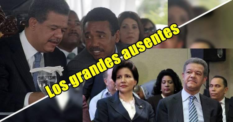 Félix Bautista y Margarita Cedeño los grandes ausentes en actividad de Leonel Fernández