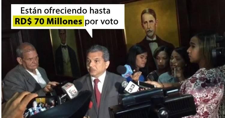 Video: Diputado Fidel Santana revela ofertan 70 millones para comprar votos a favor de la reforma