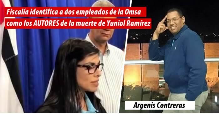Fiscalía identifica a dos empleados de la Omsa como los AUTORES de la muerte de Yuniol Ramírez