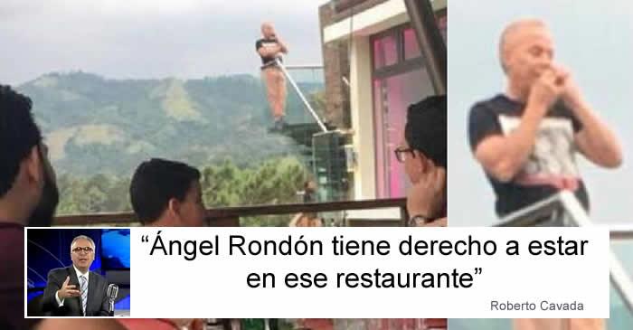 Foto de Ángel Rondón; lo que dice Nuria Piera y lo que dice Cavada