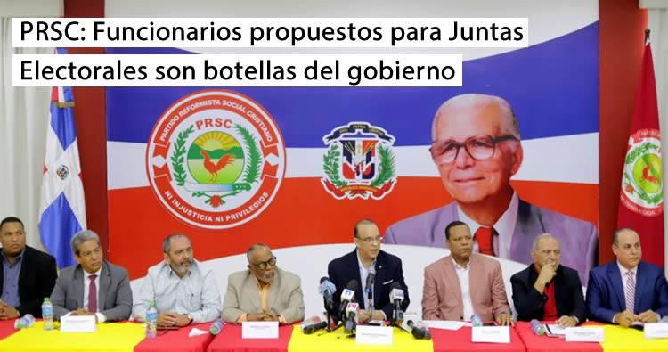 Antún Battle afirma funcionarios propuestos para juntas Electorales son botellas del gobierno