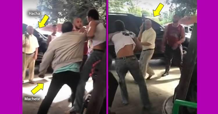 Video: Gobernador y seguridad golpean supuesto ladrón robó en su casa en SFM